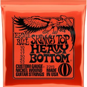 Ernieball Skinny Top Heavy Bottom Slinky Nickel Wound Electric Guitar String