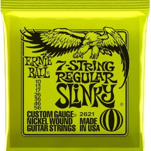 Regular Slinky 7- String Nickel Wound Electric Guitar Strings
