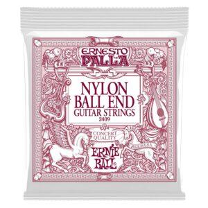 Ernesto Palla Black and Gold Ball End Nylon Classical Guitar Strings