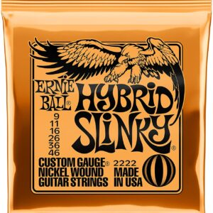 Hybrid Slinky Nickel Wound Electric Guitar Strings