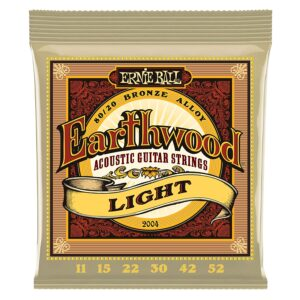 Earthwood Medium Light 80/20 Light Acoustic Guitar String