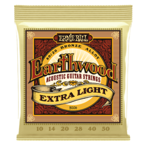 Ernieball Earthwood Silk and Steel extra soft 80\20 Bronze Acoustic Guitar String