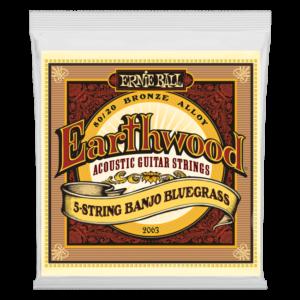 Earthwood 5-String Banjo Bluegrass Loop End 80/20 Bronze Acoustic Guitar Strings - 9-20 Gauge - P02063ngs