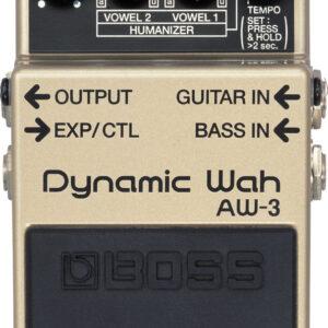 BOSS AW-3(T) Wah Dynamaic Pedal