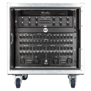 RCF CR 16-ND Including RD-net control 8, DX1616, patch bay, 4X LK25 OUT, 1RU PS