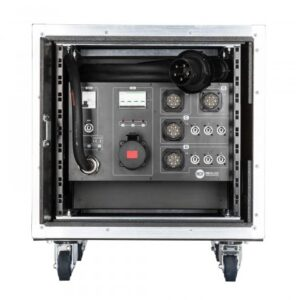 RCF PR 63 Touring case including power distribution unit