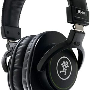 Mackie MC-100 Closed-Back, Over-Ear Headphones