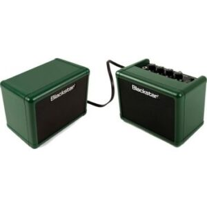 "Blackstar Fly3 Stereo Pack - 6 Watt 2 x 3"" Green Guitar Combo Amplifier with Extension Speaker Limited Edition"