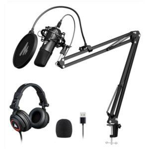 Maono AU-A04H Studio Headphone Set with USB Microphone