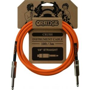 Orange Crush 3 Metre Instrument Cable Straight to Straight