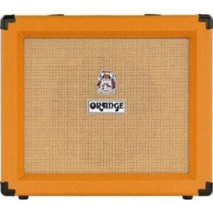 """Twin channel solid state Crush 1x10"""" combo with CabSim headphone out, digital reverb & tuner, 35 Watts"""