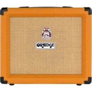 """Orange Twin channel solid state Crush 1x8"""" combo with CabSim headphone out, digital reverb & tuner, 20 Watts"""