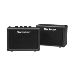 "Blackstar Fly3 Stereo Pack - 6 Watt 2 x 3"" Black Guitar Combo Mini Amplifier with Extension Speaker"