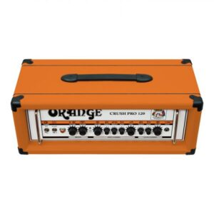 Twin channel solid state Crush Pro head with digital reverb & FX loop, 120 Watts