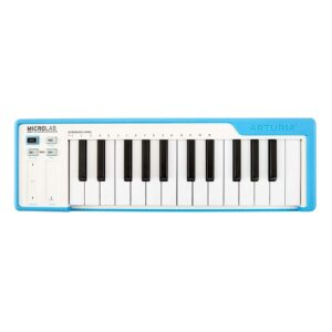 Arturia MicroLab - Compact USB-MIDI Controller (Blue)