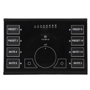 RCF TS 9918 Touch sensitive remote control for MZ8060