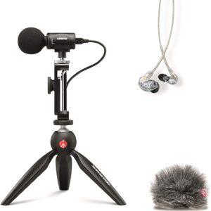 Shure MV88+SE215 Portable Videography Kit