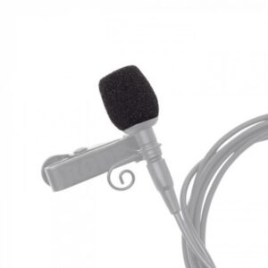 A pop filter should be fitted in the majority of applications to prevent any hard plosive sounds overloading the microphone capsule. The WS-LAV is supplied as a pack of three.