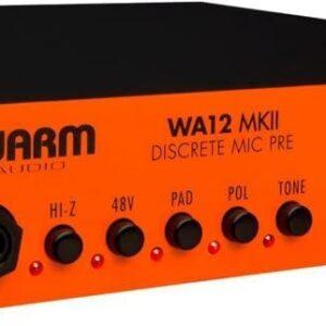 Warm Audio WA12-500 MKII 500 Series Discrete Microphone Preamp with DI