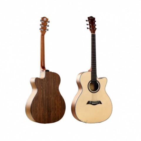 "Unistar LS-130TBK 40"" Acoustic Guitar - Natural"