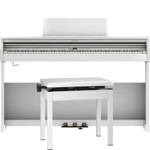 Roland RP701 Digital Piano - White Finish