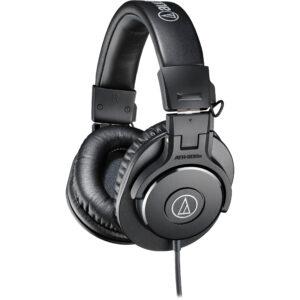 Audio-Technica ATH-M30x Closed-Back Monitor Headphones (Black)