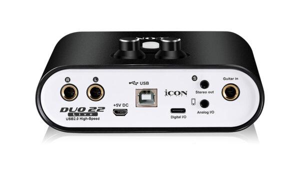 ICON Duo 22 Live USB Audio Interface
