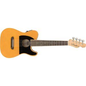 Fender Fullerton Tele Concert Ukulele - Butterscotch Blonde