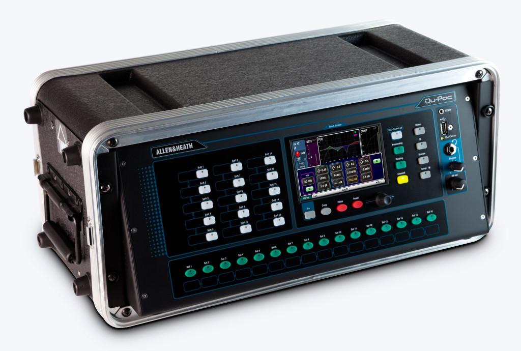 Allen & Heath Qu-Pac 35-channel Rack mountable Digital Mixer