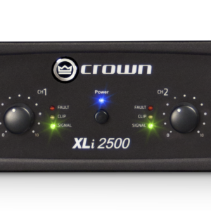 CROWN XLi 2500 Two-channel, 750W @ 4Ω Power Amplifier