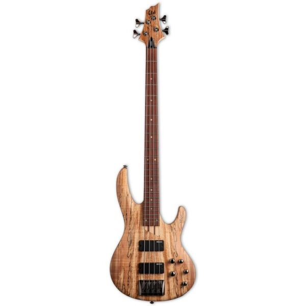 With its unique coloration and grain pattern highlights, spalted maple is a great look for a bass that stands out from the crowd.