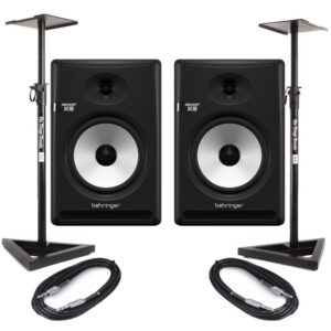 Behringer NEKKST K8 (Pair) With Stands + Cables