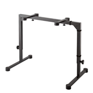 K&M Table-Style Keyboard Stand »Omega« Black Color