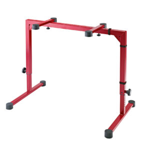 K&M Table-Style Keyboard Stand Omega Ruby Red Color