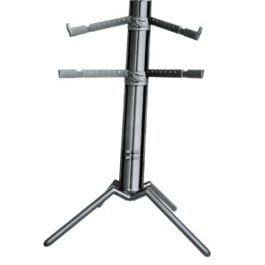 K&M Keyboard stand Spider Pro Black Anodized Color
