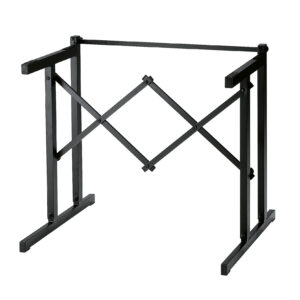 K&M Table-Style Keyboard Stand Black Color