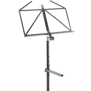 K&M Sheet Music Holder Table Style Keyboard Stand-Black Color