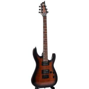 ESP LTD H-200FM Dark Brown Sunburst Electric Guitar