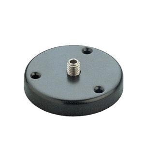 "K&M Microphone Mounting Flange Features 5/8"" Hexagonal Screw"