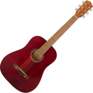 Fender FA-15 3/4 WN Red Acoustic Guitar