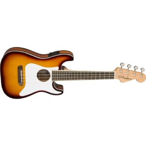 Fender Fullerton Strat Concert Ukulele - Sunburst