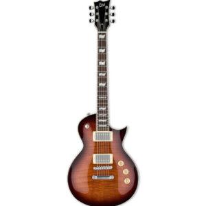 ESP LTD EC-256FM Electric Guitar, Dark Brown Sunburst