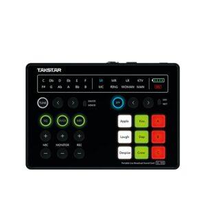 Takstar SC-M1 Portable Live Broadcast Sound Card