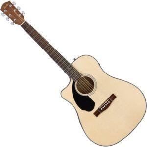 Fender CD-60SCE Natural Acoustic Guitar