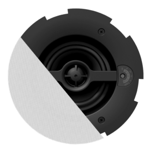 Audac CALI424/W Safelatch 2-way 4in. ceiling speaker