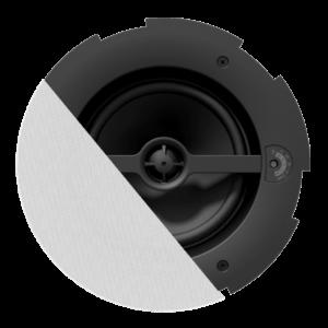 Audac CALI660/W Safelatch 2-way 6.5in. ceiling speaker