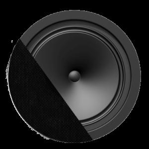 Audac CENA812/W SpringFit 8in. ceiling speaker White version