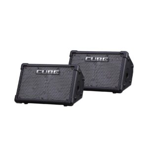 Roland CUBE Street EX PA Pack - Battery-Powered Stereo Amplifier Pack of two with Travel Bag