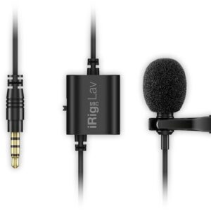 IK Multimedia iRig Mic Lav lavalier mic for iOS and Android