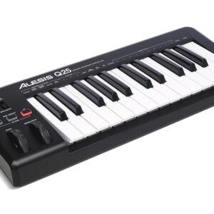 Alesis Q25 25-Key USB/MIDI Keyboard Controller